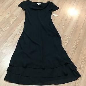 Talbots black dress NWT